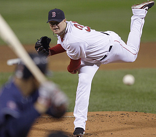Red Sox Nation can breathe easier knowing Jon Lester shows he's fine after taking a liner in his last outing.  (AP)