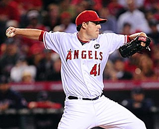 With his gem, John Lackey gives the Angels a big boost of confidence against their nemesis.  (US Presswire)