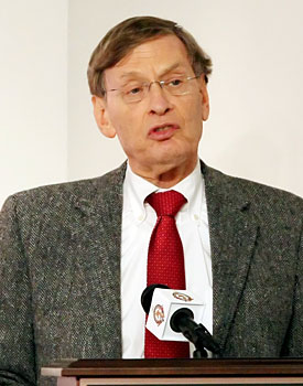 Bud Selig knows where the money is ... and it's not in instant replay. (US Presswire)