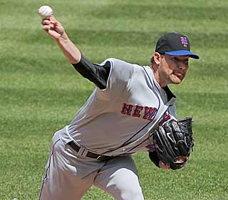 Mike Pelfrey pitches seven strong innings which helps the Mets avoid a sweep in Colorado. (Getty Images)