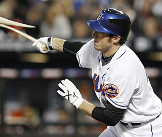 The Mets' Ike Davis continues to live up to the hype by finishing 2 for 4 in his big league debut.  (AP)