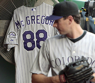The Rockies take care of business despite the death of team president Keli McGregor. (AP)