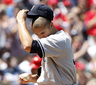 Javier Vazquez continues to struggle and has given up 20 runs in 20 innings.  (AP)
