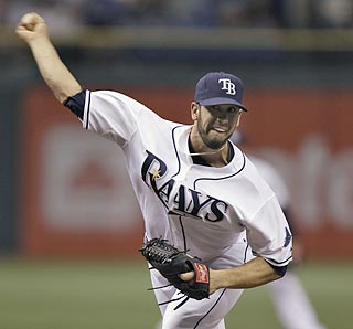 James Shields ties a career high with 12 strikeouts to help Tampa Bay win its fifth consecutive series.  (AP)