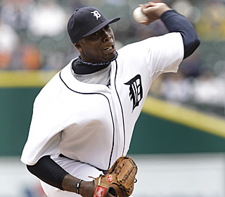 Dontrelle Willis lowers his ERA to 3.75, yielding just four hits and two walks, while fanning six.  (AP)