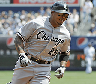 This can't be a fluke. Andruw Jones is showing his power of old with his seventh and eighth homers. (AP)