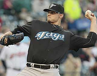 Brett Cecil is masterful against the Indians, throwing a perfect game into the seventh inning. (AP)
