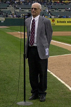 Harwell called Detroit Tigers games for four-plus decades. (AP)