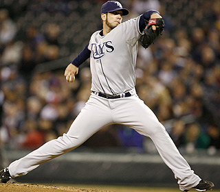 James Shields has his good stuff again, pitching eight strong innings to improve to 4-0. (US Presswire)