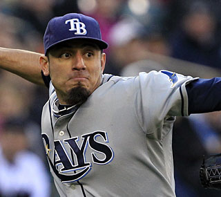 Matt Garza is a big reason why the Rays are off to the best start in the AL since the 2005 White Sox.  (AP)