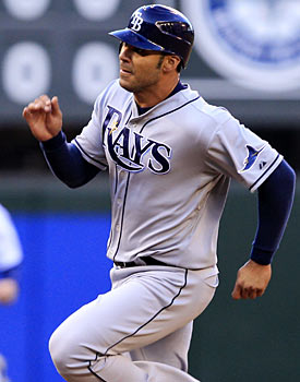 Carlos Pena may not be in Tampa next season, so the onus is to win now. (AP)