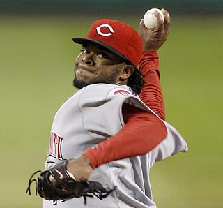 Johnny Cueto takes his dominance against Pittsburgh to new heights with a 103-pitch one-hitter.  (AP)