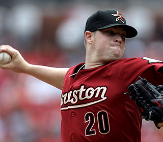 Houston's Bud Norris improves to 4-0 with an 0.35 ERA in 28 innings against St. Louis. (AP)