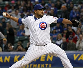 After going 5-18 in 34 starts with Seattle, Carlos Silva is now 5-0 through eight starts with the Cubs. (AP)