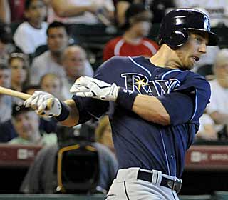 The Rays use three long balls, including one from Ben Zobrist, to outmuscle the Astros. (AP)