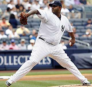 Yankees ace CC Sabathia discovers a cure for his month-long winless streak, the hapless Orioles. (AP)