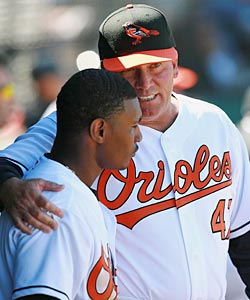 Dave Trembley is out, but young players like Adam Jones are still around to be coached. (Getty Images)