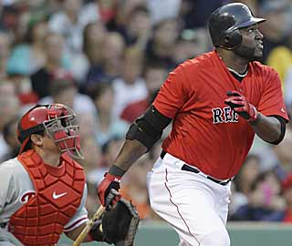 Big Papi drives in four runs to help Boston jump out to a 12-run lead over Philly after three innings. (AP)