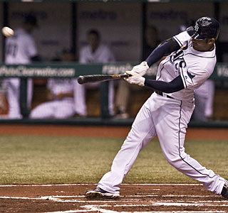 Carlos Pena is the first player to go deep in six straight games since Frank Thomas in 2006.  (AP)