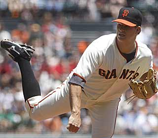 Forget Strasburg and Jimenez, what about Matt Cain? The righty has a 0.55 ERA over his past four starts. (AP)