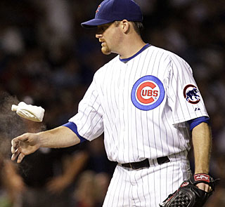 Ryan Dempster gets some good work on the mound, leading the Cubs to just their 7th win in 19 games. (AP)