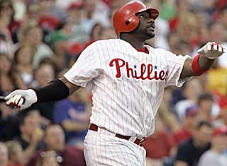 There is no shift that will work against Ryan Howard when he puts the baseball into the stands. (AP)