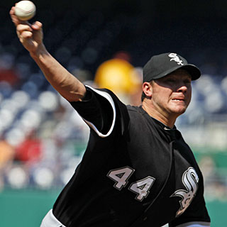 Jake Peavy strikes out seven in his three-hitter and collects his fourth career shutout. (AP)