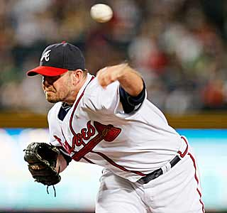 Billy Wagner strikes out the side in the ninth for his 400th save. The Braves' closer is fifth on the career list. (AP)