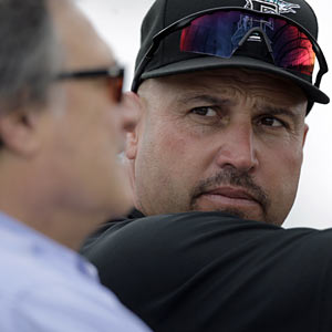 Jeffrey Loria, who has no problem looking past Fredi Gonzalez, has no long-term plan to replace the ex-skipper. (AP)