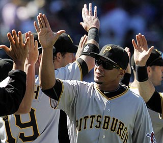 Jose Tabata & Co. have picked up nine of their 27 wins this season against the Cubs. (AP)