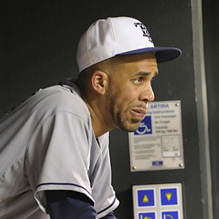 Despite allowing only two runs in eight innings, David Price suffers the tough-luck loss.  (AP)