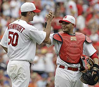 Newly appointed All-Star Adam Wainwright proves his worth by shutting down the Brewers. (AP)