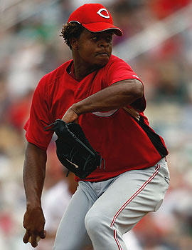 Edinson Volquez, a former 17-game winner, should provide a boost for the Reds in his return. (Getty Images)