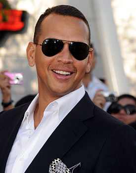 A-Rod, pictured at the premier of the new 'Twilight' movie, is more relaxed than ever. (Getty Images)