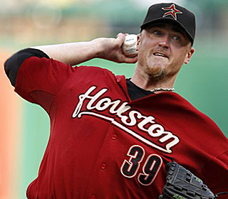 Brett Myers has pitched at least six innings in 19 consecutive starts for the Astros. (AP)