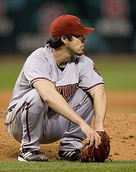 It's been a tough season for Dan Haren and the Diamondbacks. (Getty Images)