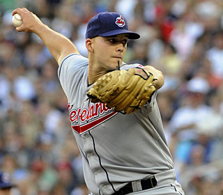 Justin Masterson is just the latest of several Indians players who improved after the All-Star break. (AP)