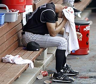 After a near flawless start to the season, Ubaldo Jimenez has a 7.64 ERA over his last six outings. (AP)