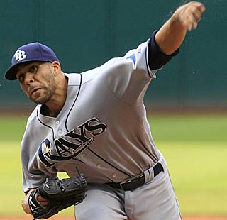 After giving up three runs early, David Price settles down and goes seven innings for the Rays. (AP)