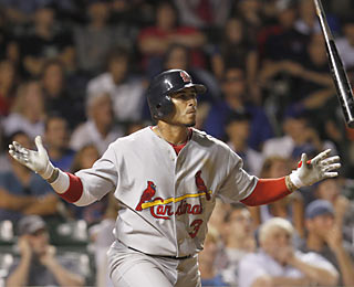 Felipe Lopez provides some rare power as he clubs a go-ahead homer in the 11th inning.  (AP)