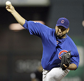 Carlos Silva pitches his way to his 10th win by allowing just five hits and giving up one run. (AP)
