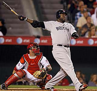 Big Papi hits two jacks in the same stadium he won the Home Run Derby in just two weeks ago. (AP)