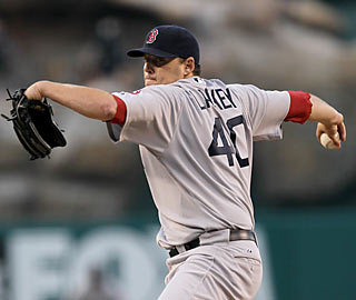 Back in familiar surroundings, John Lackey scatters seven hits and outduels Jered Weaver.  (Getty Images)