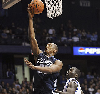 Dante Cunningham (18 points) and No. 10 Villanova move to 23-5 on the season by edging DePaul.  (AP)