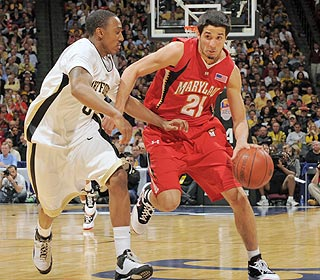 The Terps rely on Greivis Vasquez and his 22 points on their march to a possible ACC title. (US Presswire)