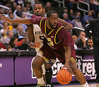 James Harden does it all for Arizona State, getting 24 points, nine boards and four assists.  (US Presswire)