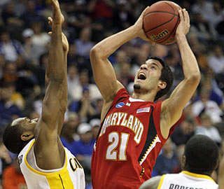 'Venezuelan Sensation' Greivis Vasquez lights it up for the Terps with 27 points on 10-of-21 shooting.