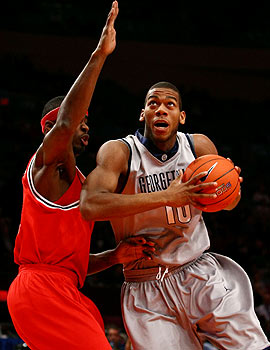 It will be a homecoming for Greg Monroe as Georgetown travels to New Orleans to face Tulane. (Getty Images)
