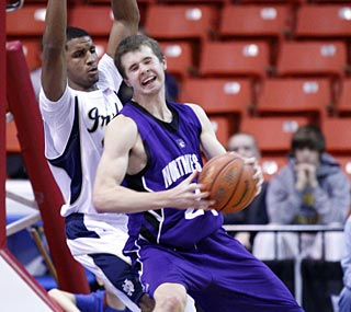 John Shurna has a career-high 25 points to vault Northwestern to the finals against Iowa State.  (AP)