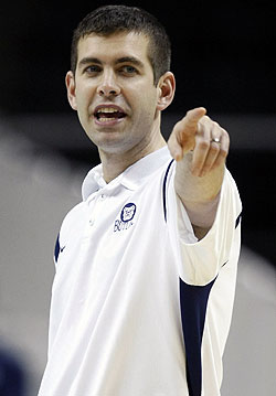 Brad Stevens has 84 wins in just three seasons at Butler. (AP)